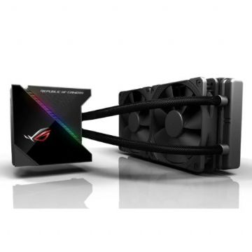 Asus ROG Ryujin 240mm Liquid CPU Cooler, 2 x 120mm Noctua Industrial PPC PWM Fans